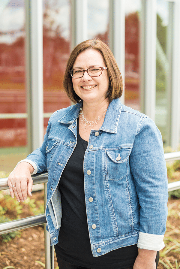College Admissions Counselor Kathy de Jong